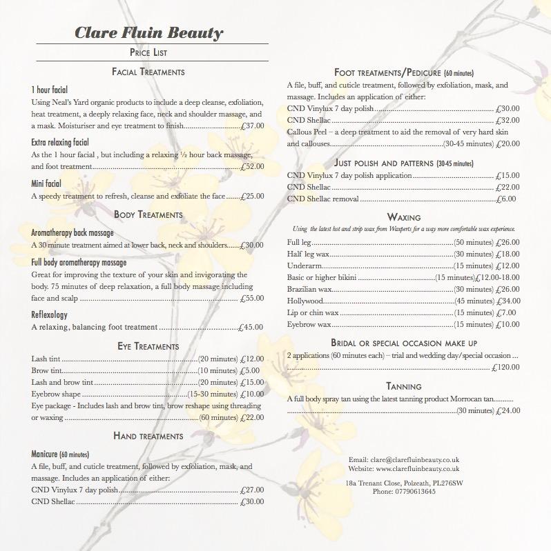 clarefluinbeauty-weddings-makeup-treatments