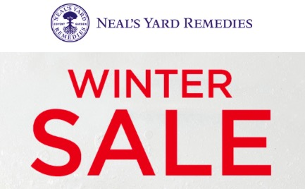 Neal's Yard Remedies Winter Sale